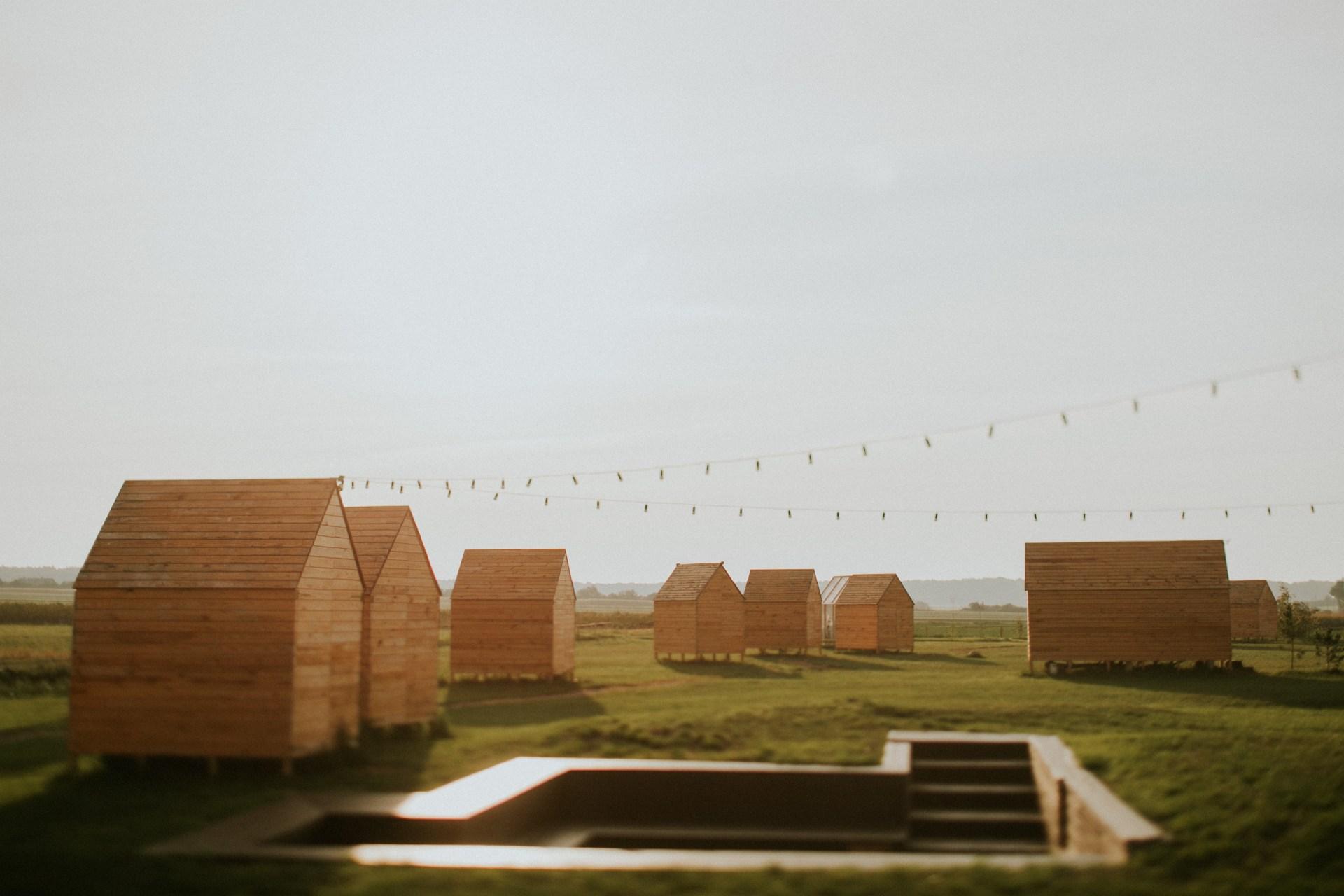 Polne domki Ruchna w Folwarku Ruchenka